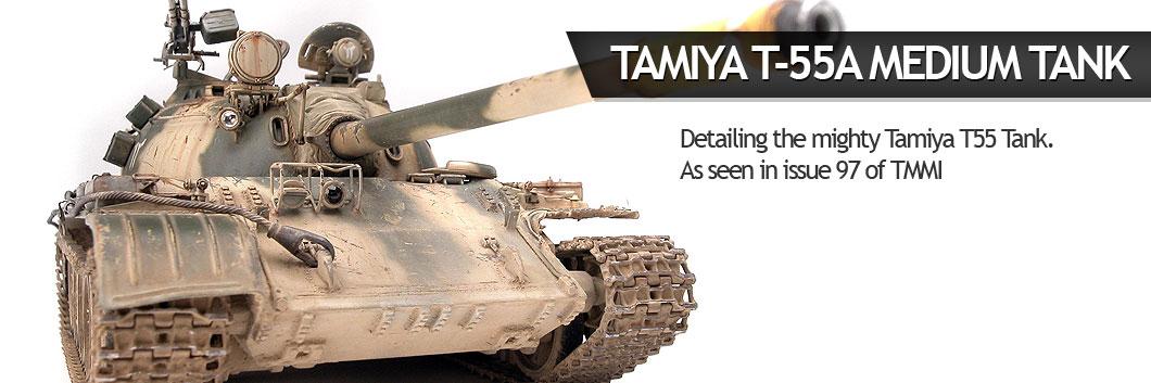 Tamiya T55 Medium Tank