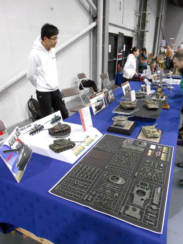AMX 30B au 1/35 chez MENG Meng-tables