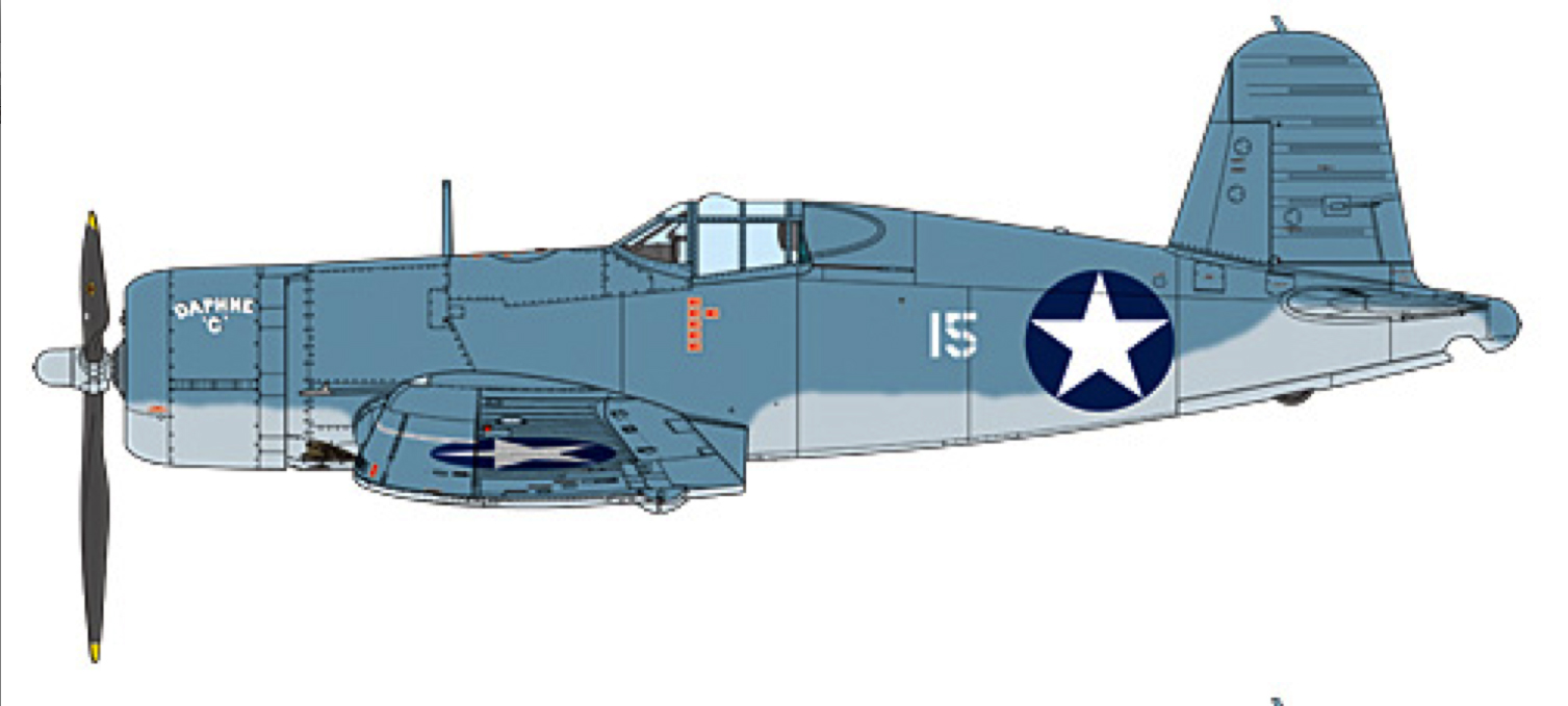 Tamiya 1:32 F4U-1 Corsair - factory photo